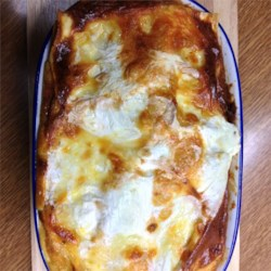 Grandma's Best Ever Sour Cream Lasagna Recipe
