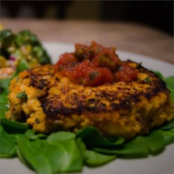 Sweet Potato Salmon Fish Cakes Recipe
