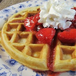 Buttermilk Oatmeal Waffles Recipe
