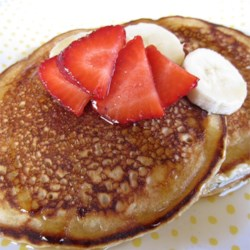 Buttermilk Banana Pancakes Recipe