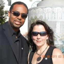 My husband and I 2