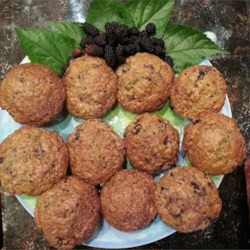 Mulberry Muffins Recipe