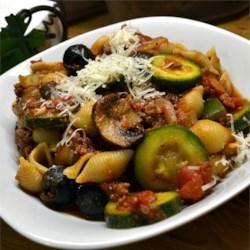 Tasty Meaty Tuscan Pasta - My personal recipe