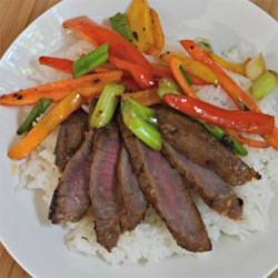 Asian Flair Flat Iron Steak Recipe