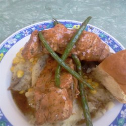 Dill and Honey Pork Chops Recipe