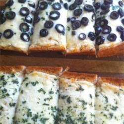 Cheese and Olive Bread