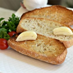 Just Garlic Toast Recipe