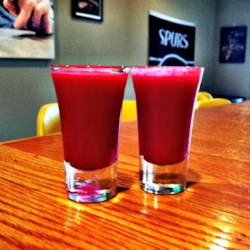 Sweet and Sour Borscht Shooters Recipe
