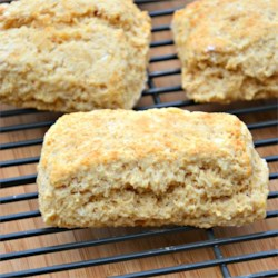 Eggless Whole Wheat Biscuits Recipe