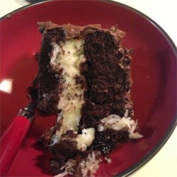 Coconut Chocolate Cake II Recipe