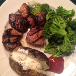 Sheila's Grilled Pork Tenderloin