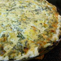 Veronica's Hot Spinach, Artichoke and Chile Dip Recipe