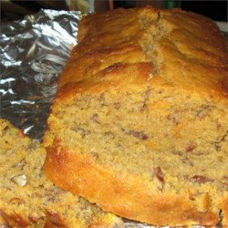 Southern Sweet Potato Bread with Pecans Recipe
