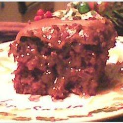 German Choc. Caramel Cake