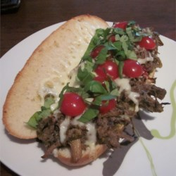Pulled Pork Pesto Sandwich Recipe