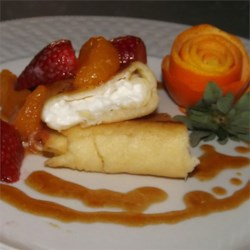 Cottage Cheese Blintzes Recipe