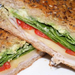 Turkey Avocado Panini Recipe