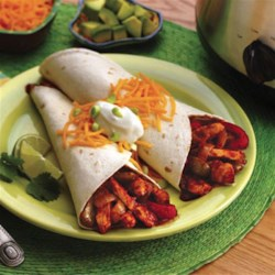 Karen's Slow Cooker Chicken Fajitas Recipe