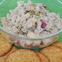 Photo of Southern Apple Tuna Salad by eutopiaofapril
