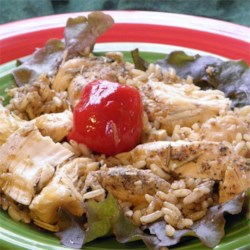 Lemon Pepper Chicken and Rice Recipe