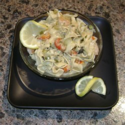 Zesty Seafood Pasta Recipe