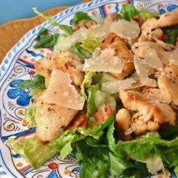Easy and Fast Cajun Chicken Caesar Salad Recipe
