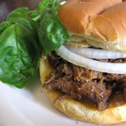PDQ Hot Beef Sandwiches Recipe