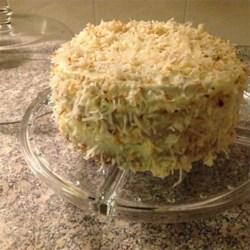 Incredibly Delicious Italian Cream Cake photo by Mazza - Allrecipes ...