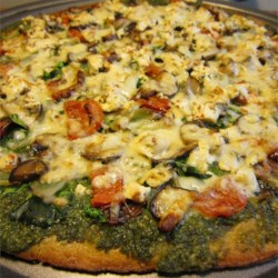Fresh Pesto Pizza