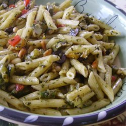 Pesto Penne Primavera Recipe