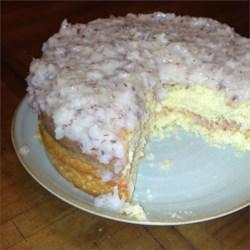 White Velvet Cake I Recipe