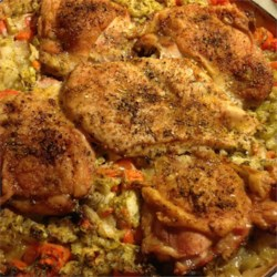 Thighs on Rice Recipe