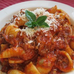 Conrad's Spaghetti and Meat Sauce Recipe