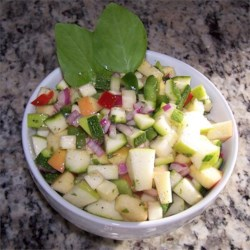 Apple and Zucchini Salad