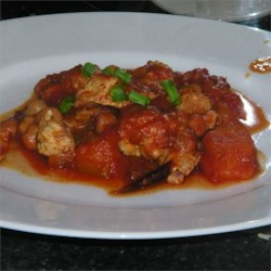 Chicken and Pumpkin Goulash Recipe