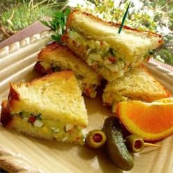 Cucumber and Egg Sandwich