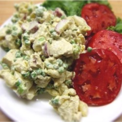 Curry Chicken Pasta Salad Recipe