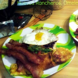 Black Bean Huevos Rancheros Recipe