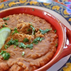 quick and easy refried beans printer friendly
