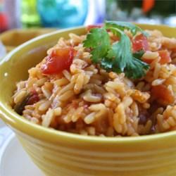 linnies spanish rice printer friendly