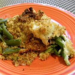 Cheesy Green Bean Dish Recipe
