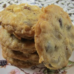 Pecan Coconut Chocolate Chip Cookies Recipe