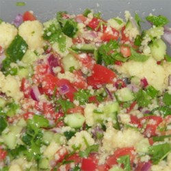 Whole Wheat Couscous Tabbouleh Recipe