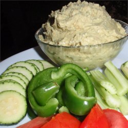 Avocado Lime Hummus Recipe