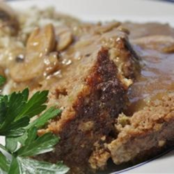 Best Ever Meatloaf with Brown Gravy Recipe