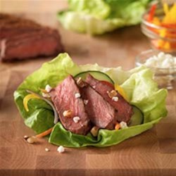 Inside-Out Grilled Steak Salad Recipe