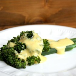 Hollandaise Sauce with Curry