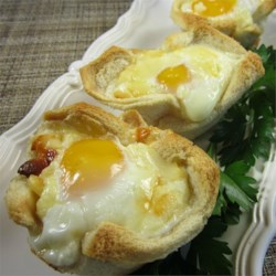 Mom's Baked Egg Muffins