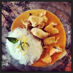 Panang Curry with Chicken Recipe