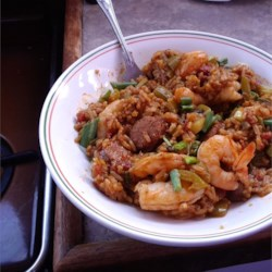 Chef John's Sausage & Shrimp Jambalaya Recipe